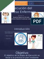 Ejecución Del Proceso Enfermero