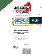 Sisgeo - Monitoreo Geotecnico, Monitoreo Estrutural y Instrumentacion Para Geotecnica - Sisgeo