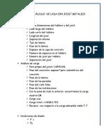 SECUELA DE CÁLCULO  DE LOSA CON JOIST METALICO.docx