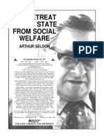 Arthur Seldon - The Retreat of the State From Social Welfare