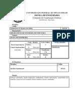 Ees036 Fundamentos de Mecanica de Solidos