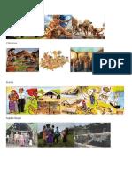 Figuras Mayas Chibchas y Grupos Indígenas de Panamá