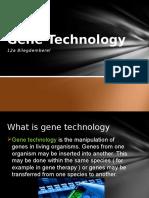Genetechnology