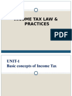 Income Tax Unit 1