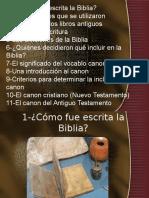 Cómo fue preparada la Biblia.ppt
