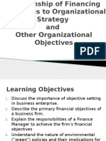 Chapter 2-Relationship of Financial Objectives