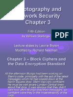 Ch03 Block Ciphers Nemo