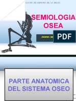 Semiologia Del Sistema Oseo