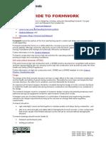 Guide Formwork