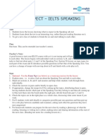 Ielts Speaking What to Expect