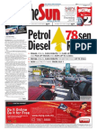 The Sun Malaysia Cover (5 June 2008)