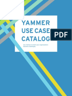 Yammer Use Case Catalog