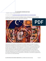 El Arte Cristiano en Un Mundo Desencantado - Por Rodolfo Amorim Carlos de Souza