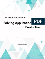 Solving Application Errors in Production