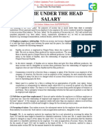 Income Under the Head Salary2