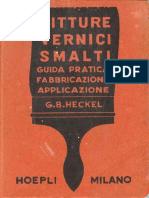 Heckel - Pitture Vernici Smalti 1954
