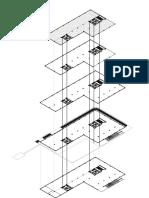 Isometri utilitas (Jaringan Dari Pdam Ke Hydrant Luar Dan Pdam Ke Fch Dan Sprinkler)