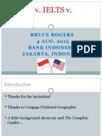 TOEFL v Ielts v Toeic Jakarta Aug 2015 II