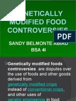 Gmo Controversy Report