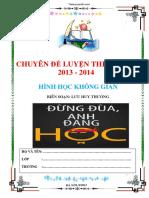 Hinh Hoc Khong Gian - Luu Huy Thuong
