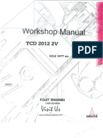 Deutz TCD 2012  2V Manual book