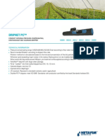 130913 Dripnet PC Thick Walled Dripperlines Technical Information