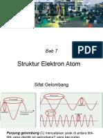 Bab7 Struktur Elektrom Atom