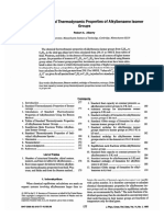 Standart Chemical Thermodynamic Properties of Alkylbenzene Isomer Groups. Robert a. Alberty