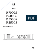 User guide P7000 Yamaha