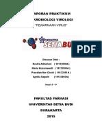 Laporan mikrobiologi virologi