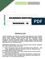 Kelayakan Investasi (Kredit)