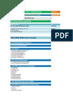 02.SAP HANA SP08 Course Content Details