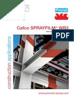 Cafco Sprayfilm WB3 - DS