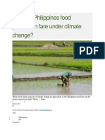 How will Philippines food production fare under climate change.docx
