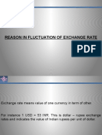 Exchange Rate Movement