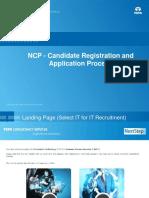 Registration Short Aplication Form Steps