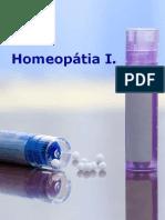Homeopátia I.