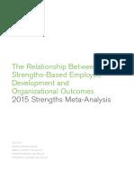 2015 Strengths Business Unit Meta-Analysis