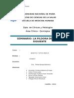 Seminario Grupal Etica Medica