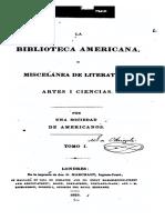 """""""Prospecto"""" de la Biblioteca Americana, y la """"Alocución a la poesía"""".pdf"""