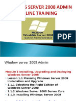 Windows server 2008 online course|windows server online training|windows certification
