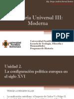 Unidad 2 La Configuración Política Europea en El Siglo XVI (Avances)