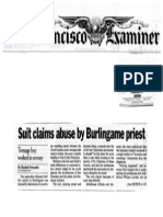 SF Examiner 1/00 - Suit Claims Abuse by Burlingame Priest