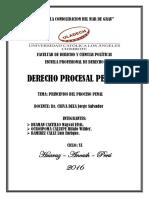 Derecho Procesal Penal i - Hz - Derecho -Huaman Castillo Maycol- Actividad Colaborativa i