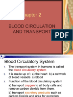 Chapter 2 Blood Circulation & Transport
