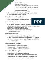 Primary Presentation