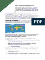 Nouveau Doforet tropicales cument Microsoft Word