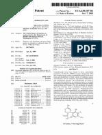 PATENT US6630507 B1 ~ Cannabinoids as AntiOxidants & Neuroprotectants