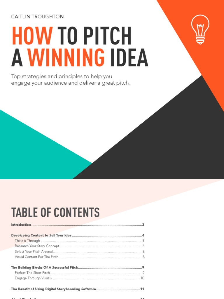 how to pitch a winning idea | animation | leisure