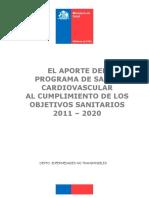 Aporte Del PSCV Al Cumplimiento de Los Objetivos Sanitarios 2011 2020